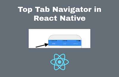 Software Development: Top Tab Navigator With Icons in React Native